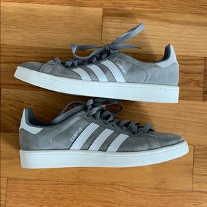 Adidas Campus Sneakers (grey: 8.5)
